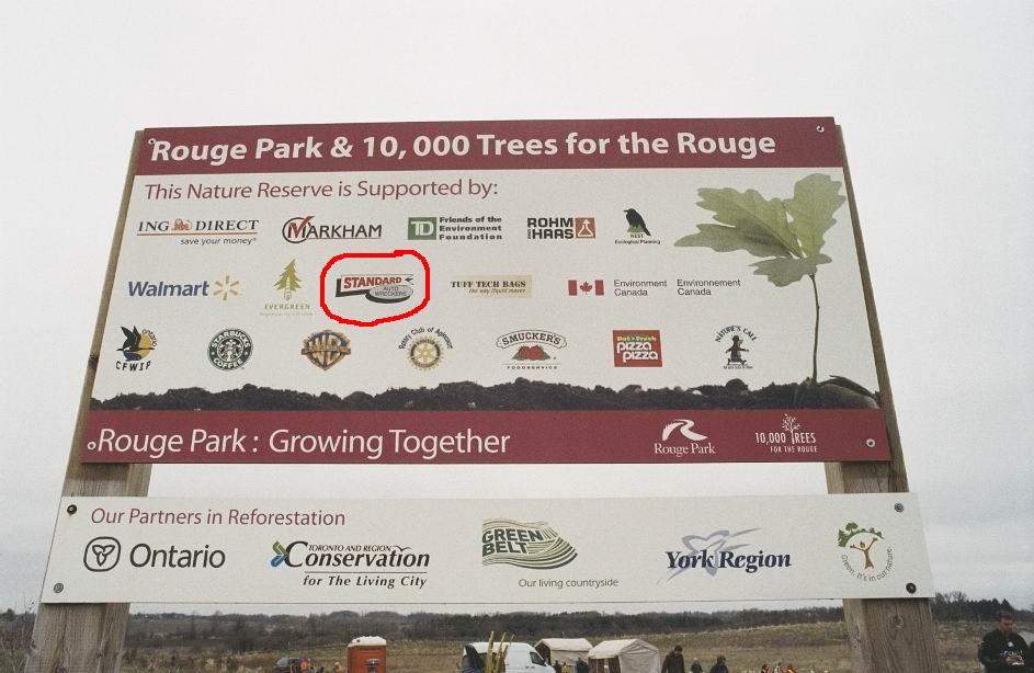 Rouge Park and 10000 Trees for the Rouge